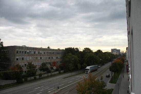 Citadines München Arnulfpark: 窗外