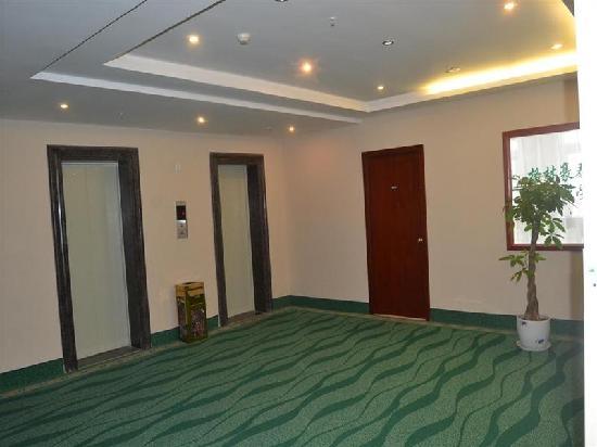 GreenTree Inn Suqian Siyang Bus Station Business Hotel: 楼梯间