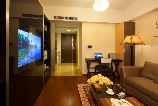 Private Enjoyed Home Apartment Guangzhou Jiarun Linjiang Shangpin