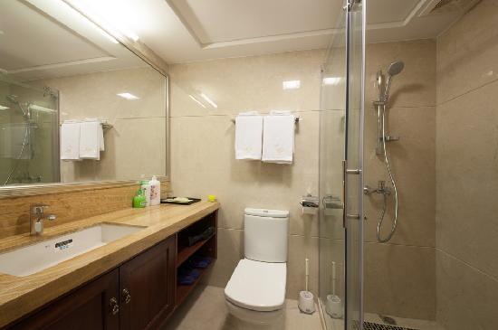 Private Enjoyed Home Apartment Guangzhou Jiarun Linjiang Shangpin : 豪华园景大床房