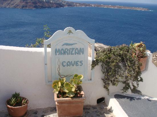 Marizan Caves & Villas: 酒店入口
