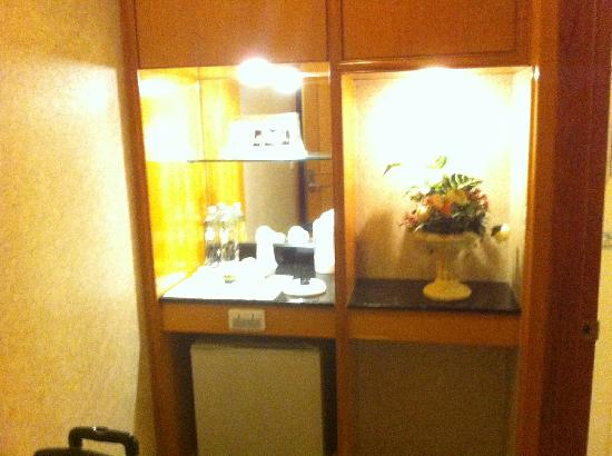 Beauty Hotels Taipei - Starbeauty Resort: 房间内冰箱