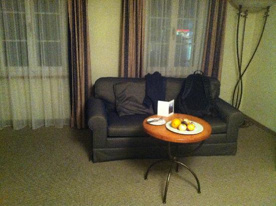 Hotel Spinne: 休息区