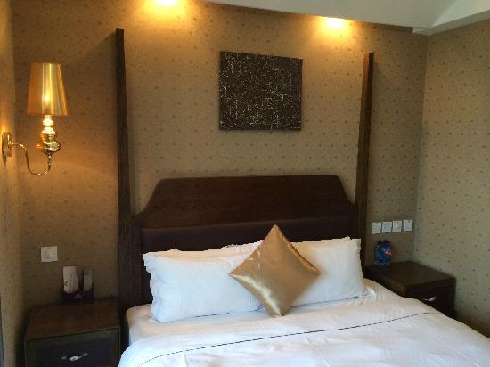 Jinkadao Hotel: 大床