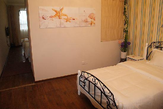 Gangwan Yihao Hotel : 温馨观景三人间