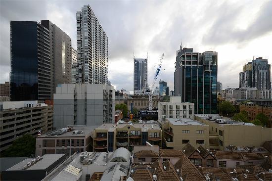 Fraser Place Melbourne: 阳台上的景观