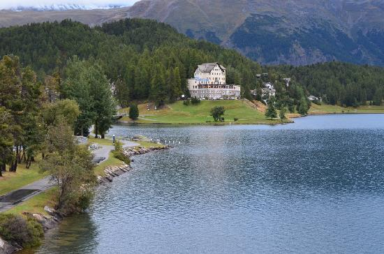 Lake of Staz (Lej da Staz) : St. Moritz