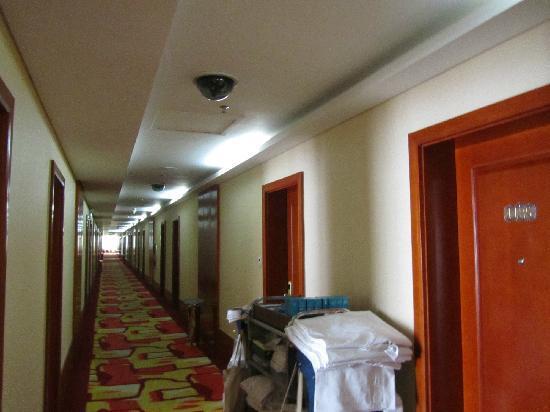 Jiu Gang Hotel: 住房走廊