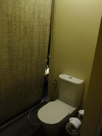Anantara Lawana Koh Samui Resort: 酒店客房室外卫生间