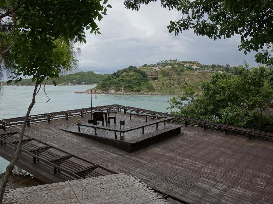 Six Senses Samui: 酒店餐厅景观