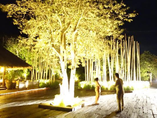Six Senses Samui: 酒店夜景