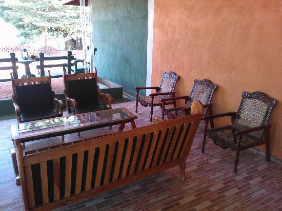 Sigiriya Terrace Hotel: 休息区