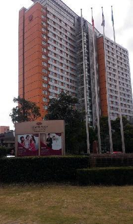 Crowne Plaza Shanghai Fudan: 外面
