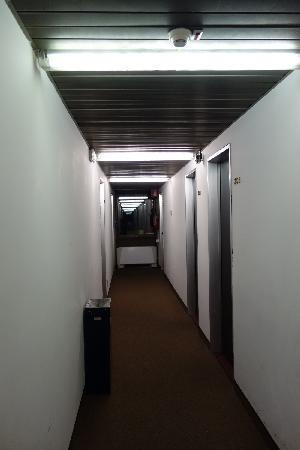 Palace Hotel : 酒店客房内走廊