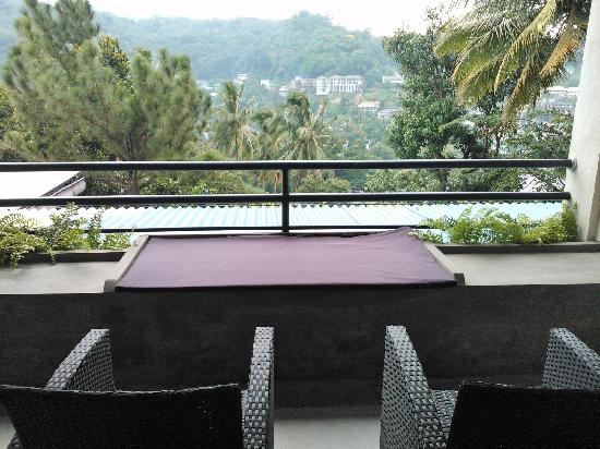 Hotel Thilanka: 酒店客房的阳台