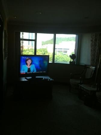 Swan Hotel Xiamen: 房间看出去是湖,舒服。