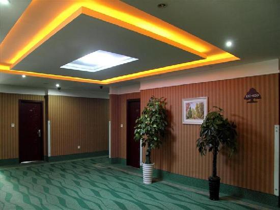 GreenTree Inn Suzhou Wangting Zhanwang: 楼梯间