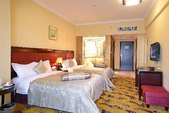 Hejing Hotel: 河景双人房1