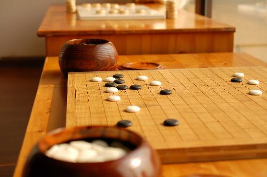 Olive Inn: 青旅下棋
