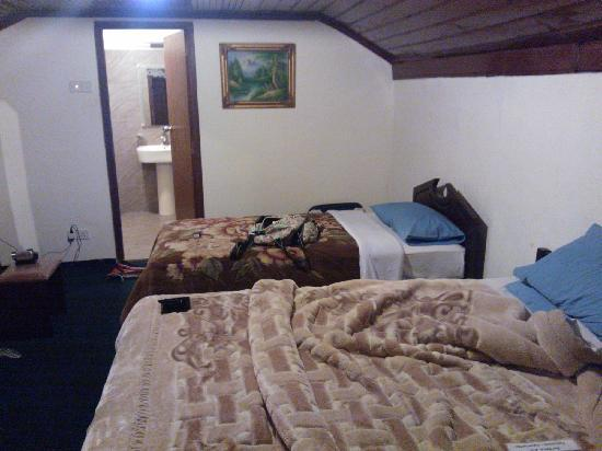 The leisure village Nuwara Eliya : 酒店的房间