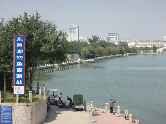 Liaocheng Jiangbei Watertown: 江北水城护城河