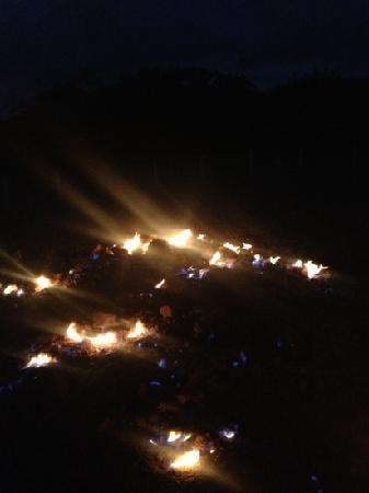 Chuhuo Special Scenic Area: 出火 晚上好看些