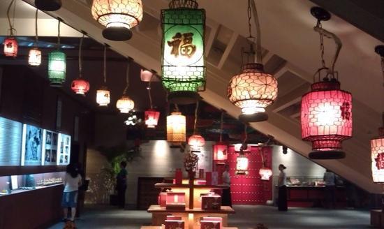 Lao She Teahouse : 小展览