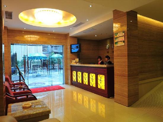 GreenTree Inn Jiujiang Xunyang Road Apartment Hotel: 大堂