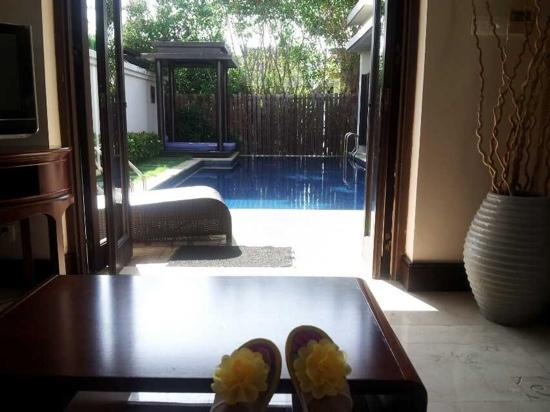 Pullman Sanya Yalong Bay Villas & Resort : 超大的私人泳池