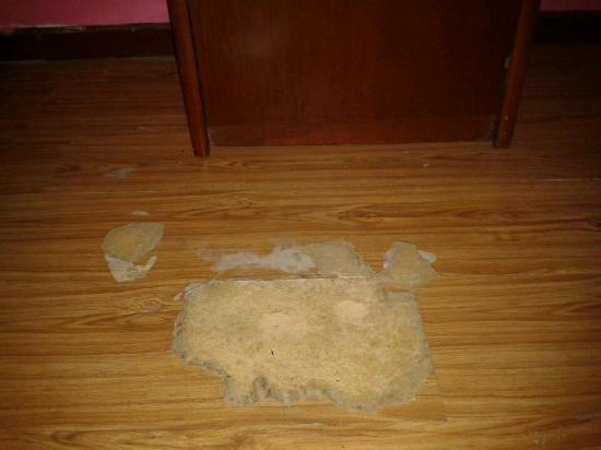 Jinkairui Hotel: 地面是地板革