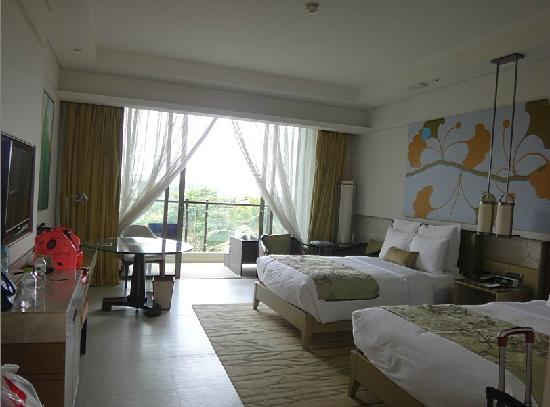 Renaissance Sanya Resort & Spa : 宽敞的客房