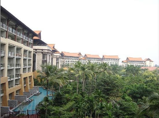 Renaissance Sanya Resort & Spa : 阳台上看到的风景
