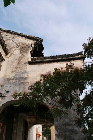 Huzhou Nanxun Zhang Old House Buildings : 墙头