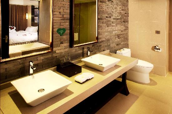 Watin Xiangyuan Hotel: 洗手间