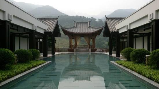 Banyan Tree Chongqing Beibei: 山清水秀
