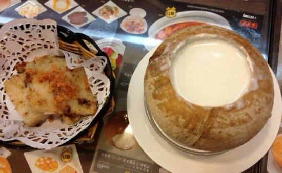 Hui Lau Shan: 萝卜糕最好味