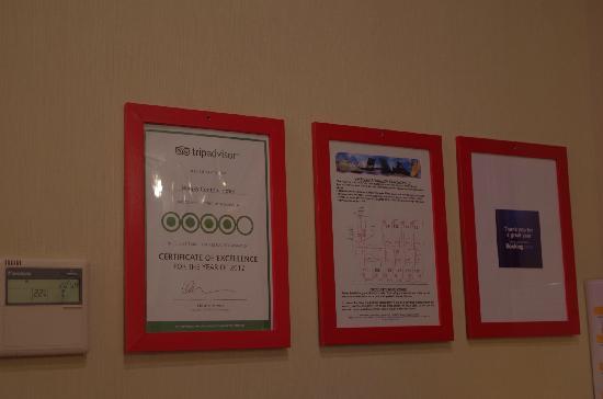 Nevsky Contour Hotel: TripAdvisor 2012年卓越奖得主