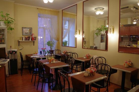 Nevsky Contour Hotel: 用早餐的地方