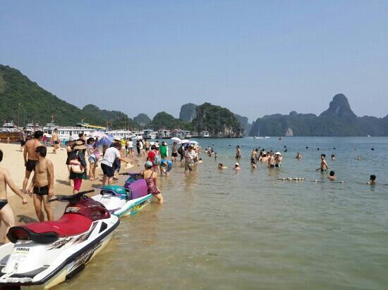 Bai Tu Long Bay: 下龙湾天堂岛沙滩
