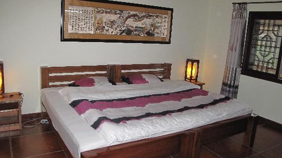 Longji Holiday Hotel: 观景豪华大床房