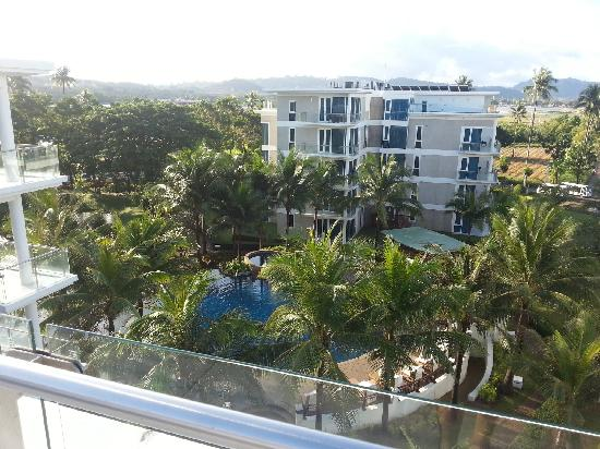 Grand West Sands Resort & Villas Phuket : 景观