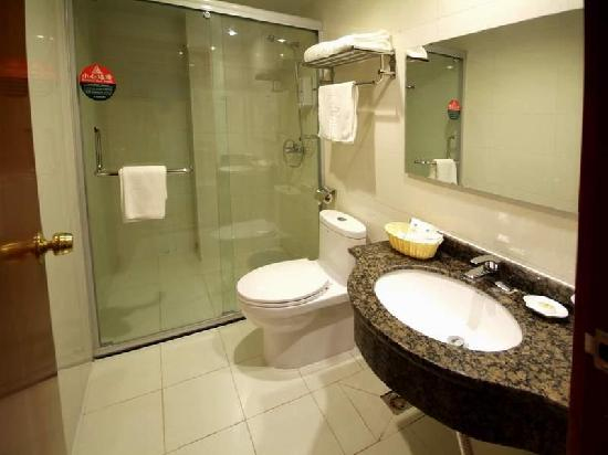 GreenTree Inn Rizhao Bus Terminal Station Business Hotel: 浴室