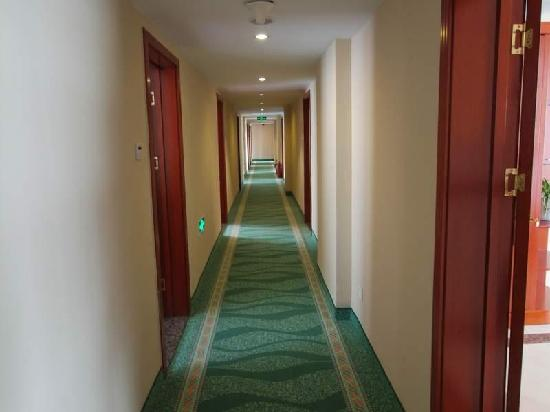 GreenTree Inn Rizhao Bus Terminal Station Business Hotel: 走廊