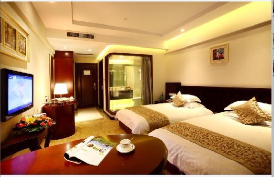 Ninghe Haojing Hotel: 酒店标间