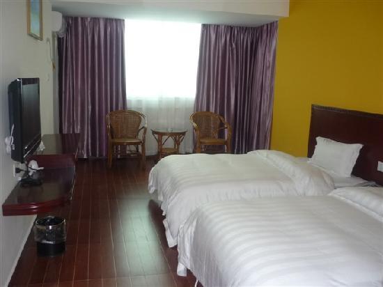 Jiajie Business Hotel Haikou Lantian Road: 双床房