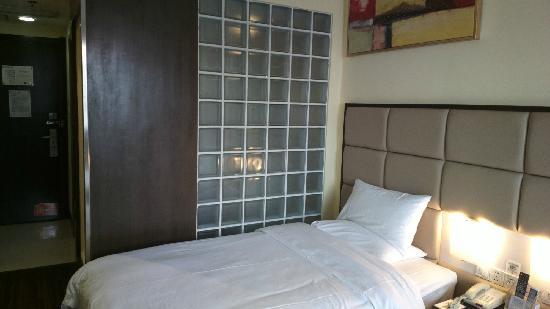 Hanting Quanji Hotel Wuhan Guanggu: 房间2