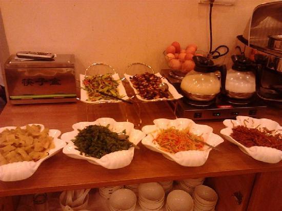 Gaotang County, Chine : 早餐