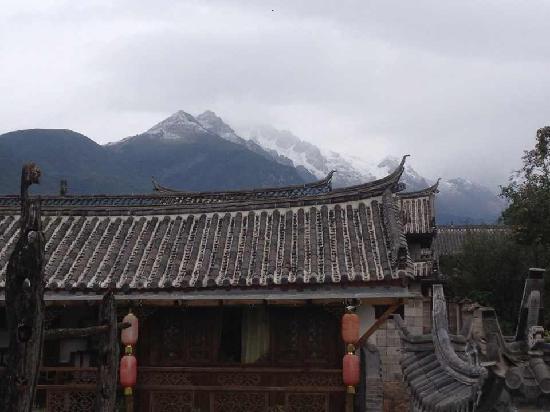 Baisha Holiday Resort Lijiang: Snow moutain view