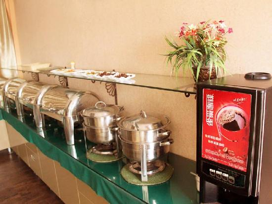 GreenTree Inn Yuncheng Yanhu Express Hotel: 早餐