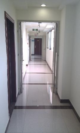 Jiajie Hengxuan Business Hotel: 走廊